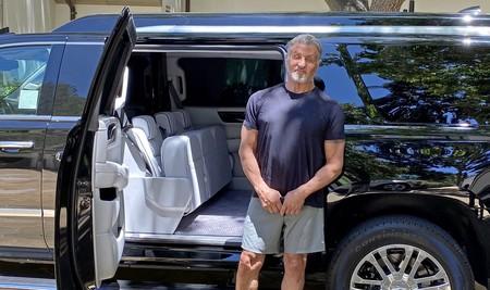 Sylvester Stallone Cadillac Escalade 8