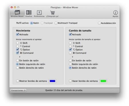 Flexiglass, nueva opción para gestión y control de ventanas en OS X