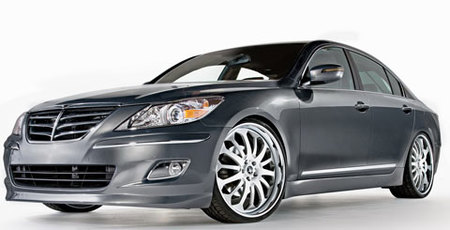 Hyundai Genesis by RIDES Magazine