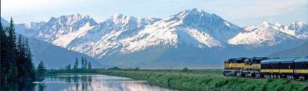 Alaska: tren hacia el Círculo Polar Ártico