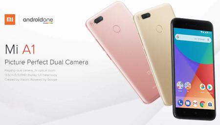 Xiaomi Mi A1 desde España a precio de China: por sólo 171 euros con este cupón
