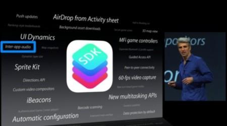 Inter app Audio