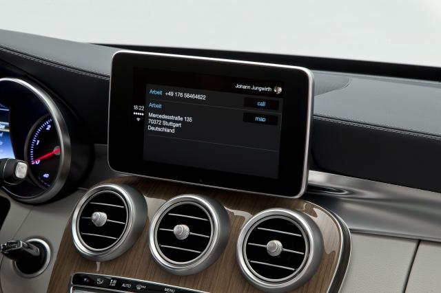 Foto de CarPlay Mercedes Benz Clase C (11/26)