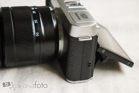 Fujifilm X-M1 pantalla