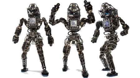 Este robot ya es capaz de hacer equilibrios sobre una barra