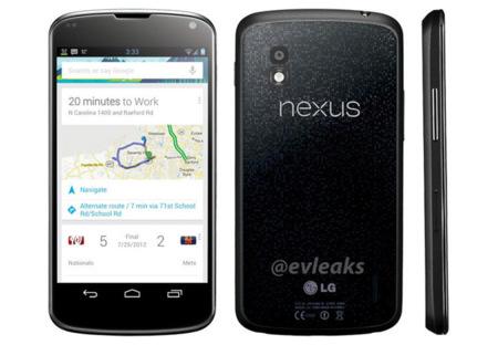 Filtrados benchmarks del LG Nexus y una nueva imagen