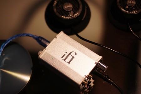 iFi nano iDSD con los auriculares Grado SR60