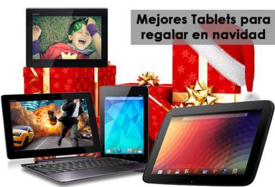 Los mejores tablets para regalar estas navidades