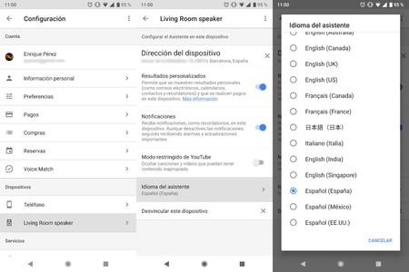 Google Home Espanol