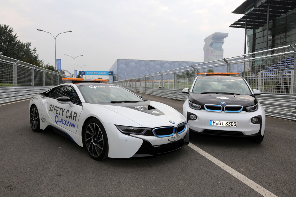Bmw I8 I3 Safety Car