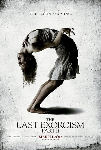 Imagen con el cartel de 'El último exorcismo 2'
