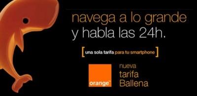 Nueva Ballena 12 de Orange incluirá 1 GB y llamadas por 1 céntimo en prepago. Comparamos con el resto
