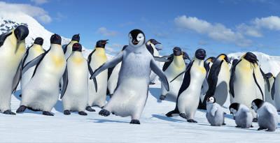 Una imagen de Happy Feet. Rompiendo el Hielo