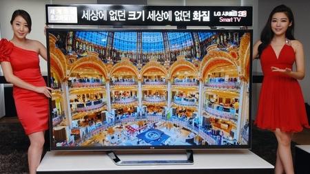 La pantalla 4K de 84 pulgadas de LG también llegará a Latinoamérica