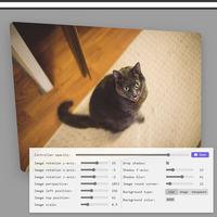 En esta web le puedes dar fácilmente un efecto 3D bastante profesional a cualquier imagen