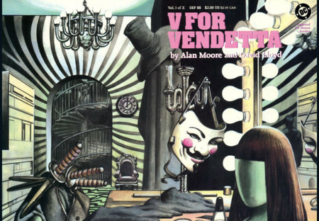 V de vendetta comic 1
