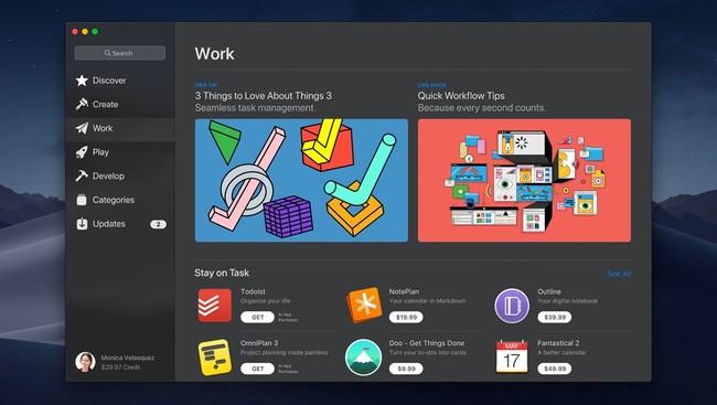 Macos Mac App Store Work Screen 06042018