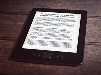 Guarda documentos de Google Docs en EPUB para leerlos cómodamente en tu lector de ebooks