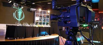 BroadBar, resturante con plató de televisión