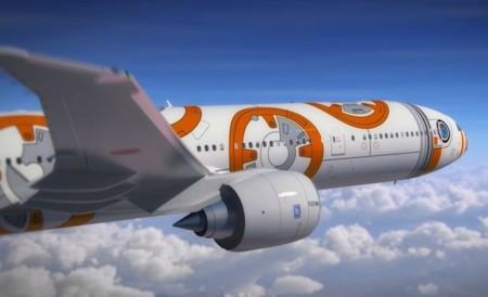 La saga Star Wars traspasa fronteras y la aerolínea ANA viste sus aviones con motivos de la película