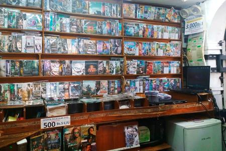Tienda Pirateria Cine Caracas 2