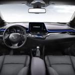 Así es el interior del Toyota C-HR