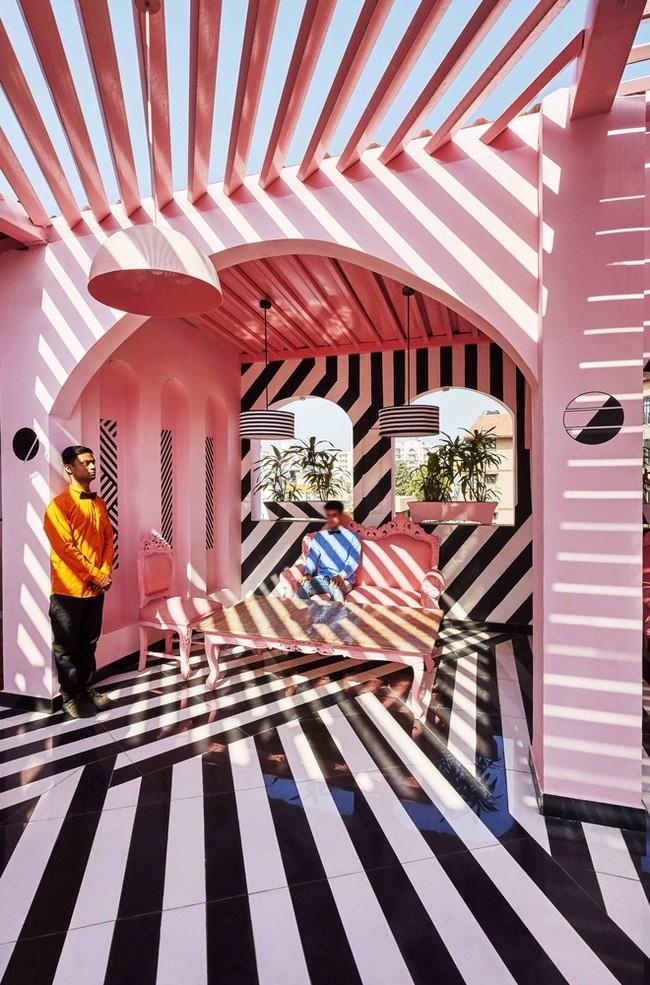 Restaurante pink Zebra en KAnbur