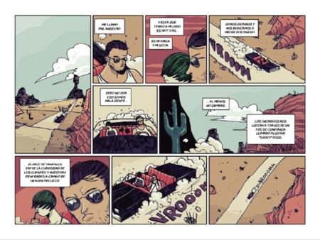 'Sicarios': el road cómic pulp de Corroto y Montana