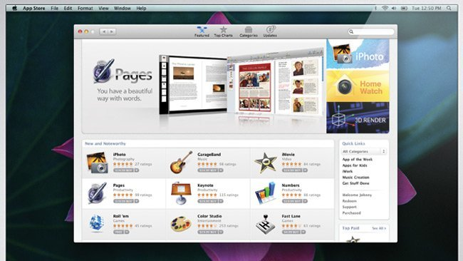 apple mac app store os x