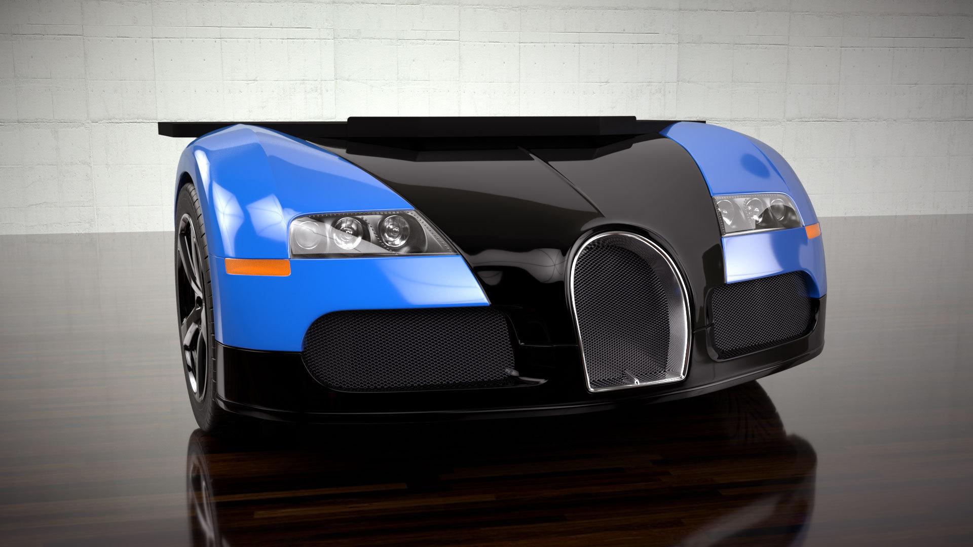 Foto de Mesa de escritorio Bugatti Veyron (1/4)