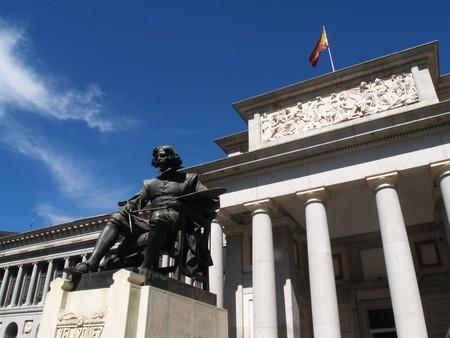 El Museo del Prado siempre lució bien como escenario de cine