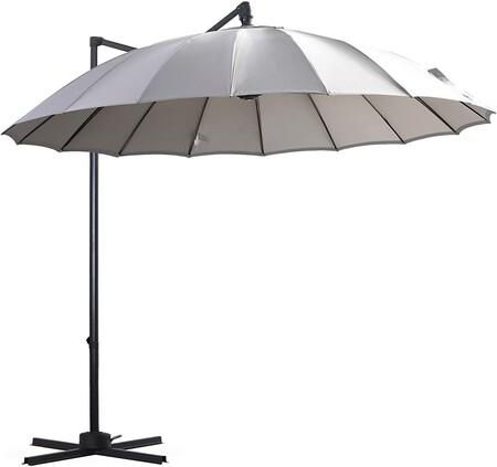 parasol mástil lateral