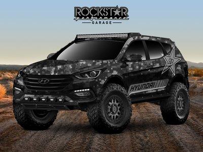 Este Hyundai Santa Fe Sport Concept para el SEMA es un salvaje todoterreno ideado para el desierto