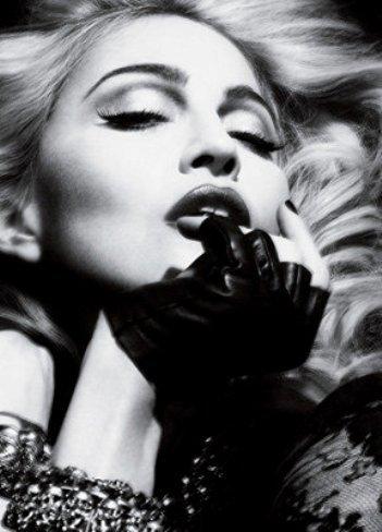 Madonna lo enseña todo todito todo al personal