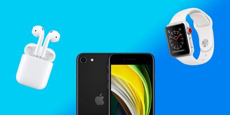 Móntate tu ecosistema de dispositivos Apple por casi menos de lo que cuesta un iPhone 11: iPhone SE, Apple Watch y AirPods