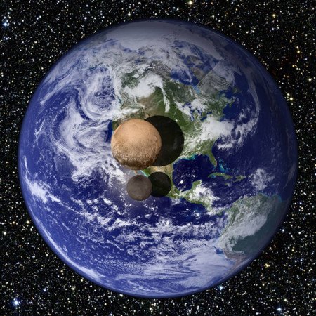 Nh Pluto Charon Earth Size