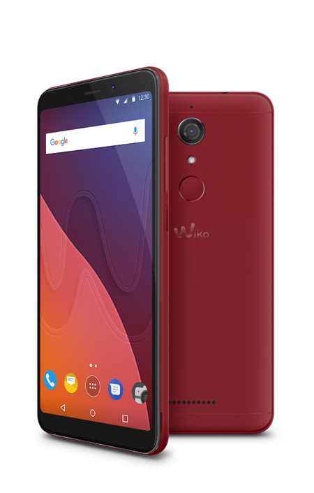 Wiko View Cherry Red Compo 02