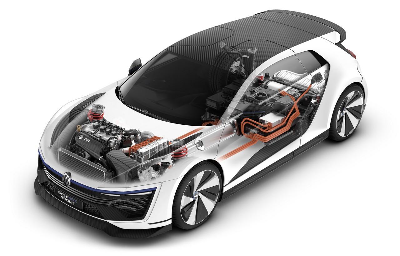 Foto de Volkswagen Golf GTE Sport Concept (38/43)