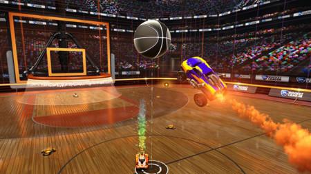 Rocket League pronto contará con un modo para jugar Básquetbol