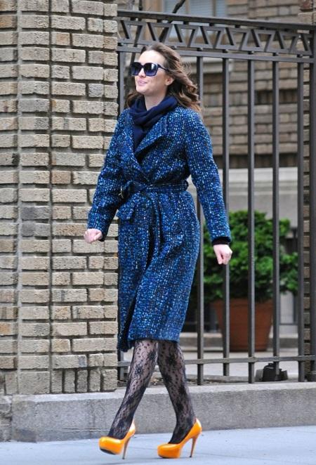 La princesa de Manhattan (Blair Waldorf) apuesta por el mostaza