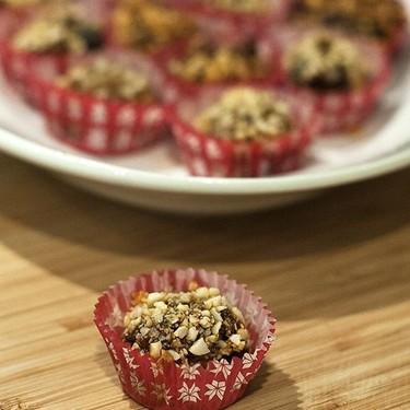 Bombones de morcilla y manzana: receta de aperitivo