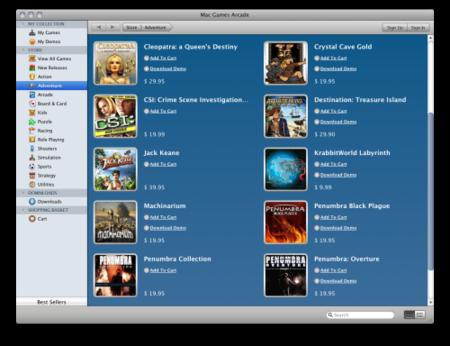 """Mac Games Arcade, una especie de """"App Store"""" para juegos en Mac"""