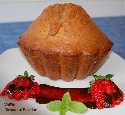 Gran muffin de canela y aceite de oliva