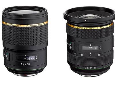 HD Pentax-D FA 50mm F1.4 y HD Pentax-DA 11-18mm F2.8, Ricoh anuncia la renovación de su serie Star con estos dos objetivos