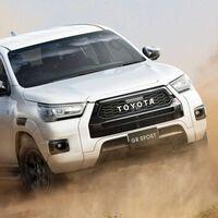 La Toyota Hilux GR Sport estrena su cara más agresiva y una nueva puesta a punto de la suspensión