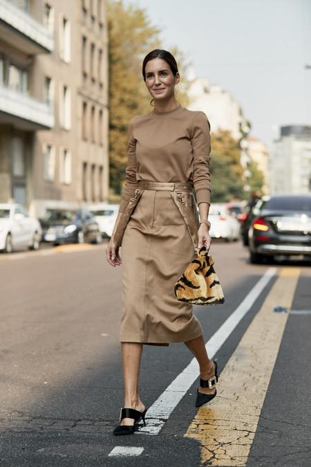 Gala Gonzalez mfw street style
