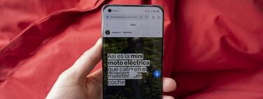 Cómo descargar vídeos y fotografías de cualquier red social en tu Xiaomi sin instalar aplicaciones