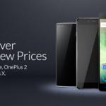 OnePlus rebaja el precio de todos sus móviles, ahora OnePlus X por 239 € y OnePlus 2 por 319 €