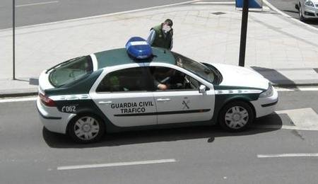 Renault Laguna Guardia Civil