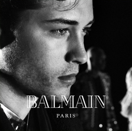 Francisco Lachowski Balmain 2016 Fall Winter Campaign